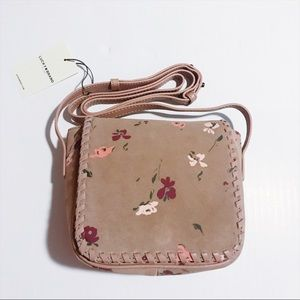Lucky Brand - Suede Floral Satchel